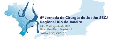 6ª Jornada de Cirurgia do Joelho SBCJ Regional Rio de Janeiro